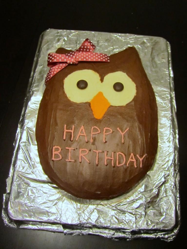 Owl Cake Pattern