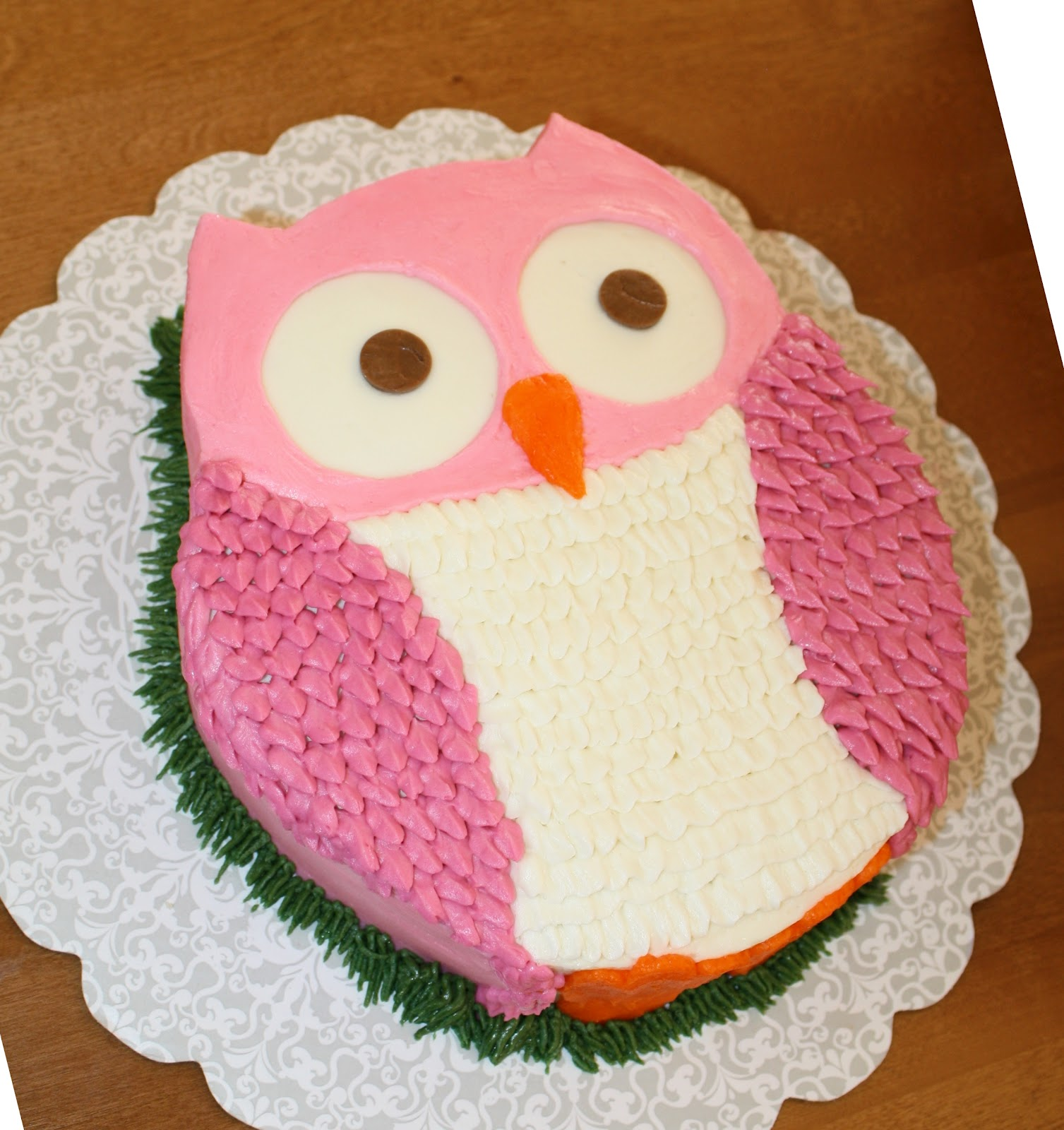 Owl Themed Baby Shower Cake Ideas