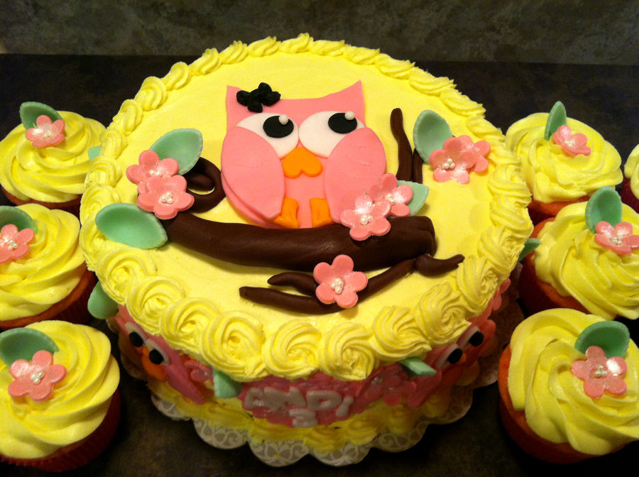 Owl Cakes For Kids