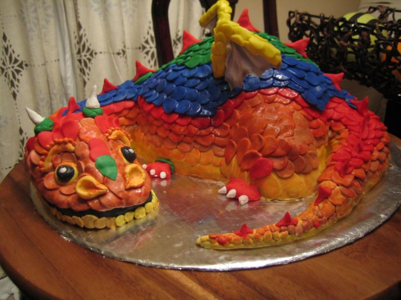 Photo of Dragon Cake