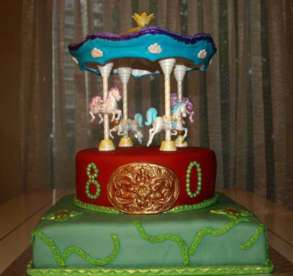 Photos of Carousel Cakes