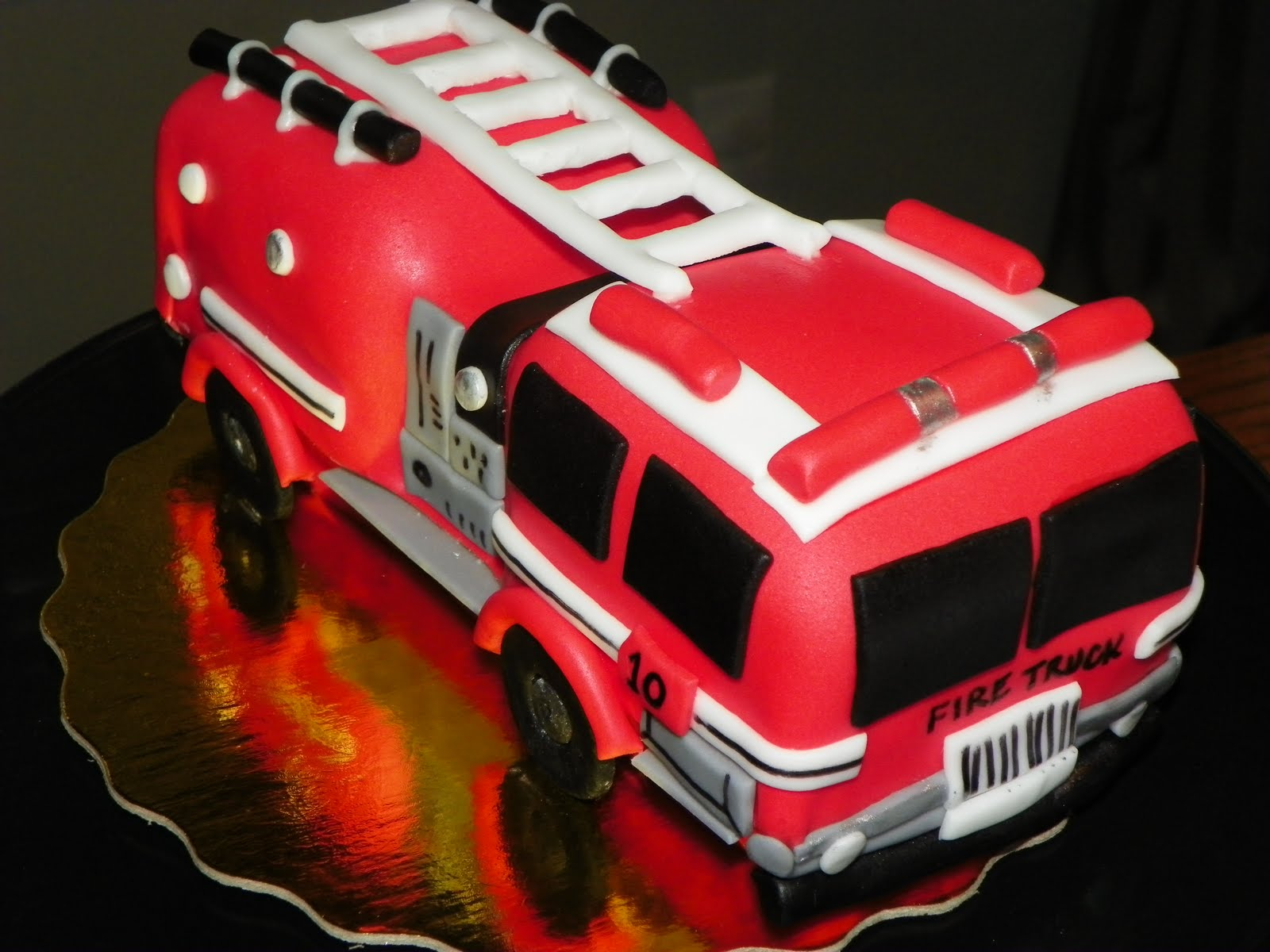 Fire Truck Cakes Decoration Ideas Little Birthday Cakes