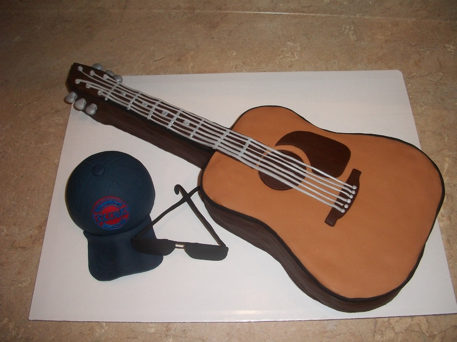 Photos of Guitar Cakes