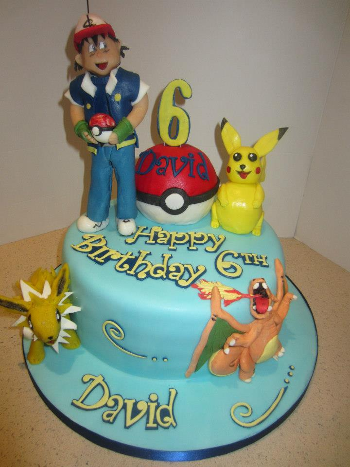 Photos of Pokemon Cake