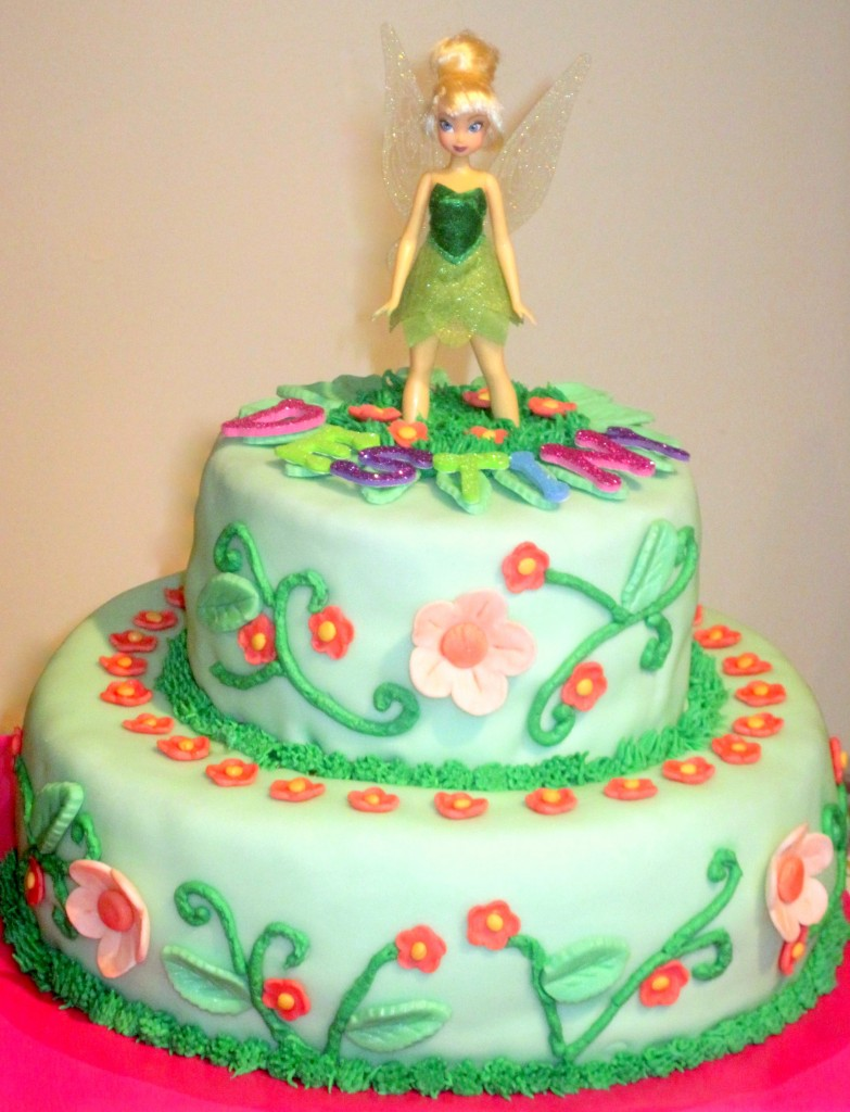 Photos of Tinkerbell Cakes