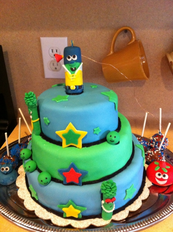 Photos of Veggie Tales Cake