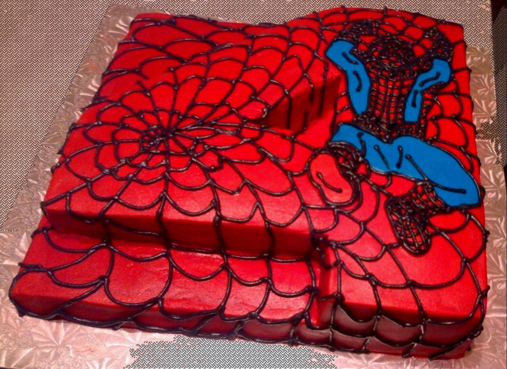 Spiderman cakes decoration ideas little birthday cakes for Spiderman decorations