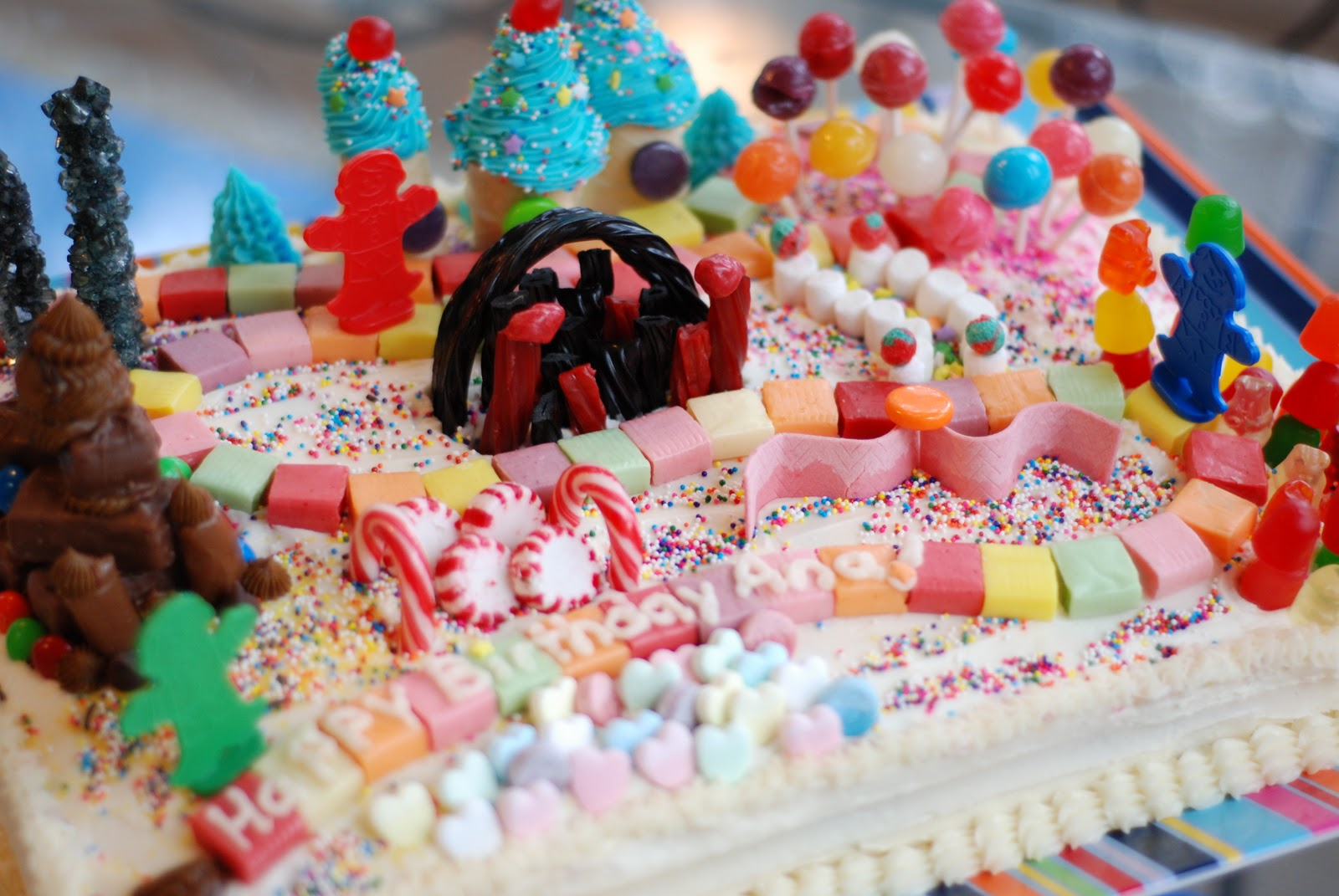 Candyland Cakes Decoration Ideas Little Birthday Cakes