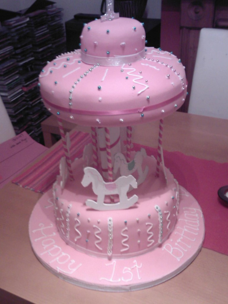 Pictures of Carousel Cakes