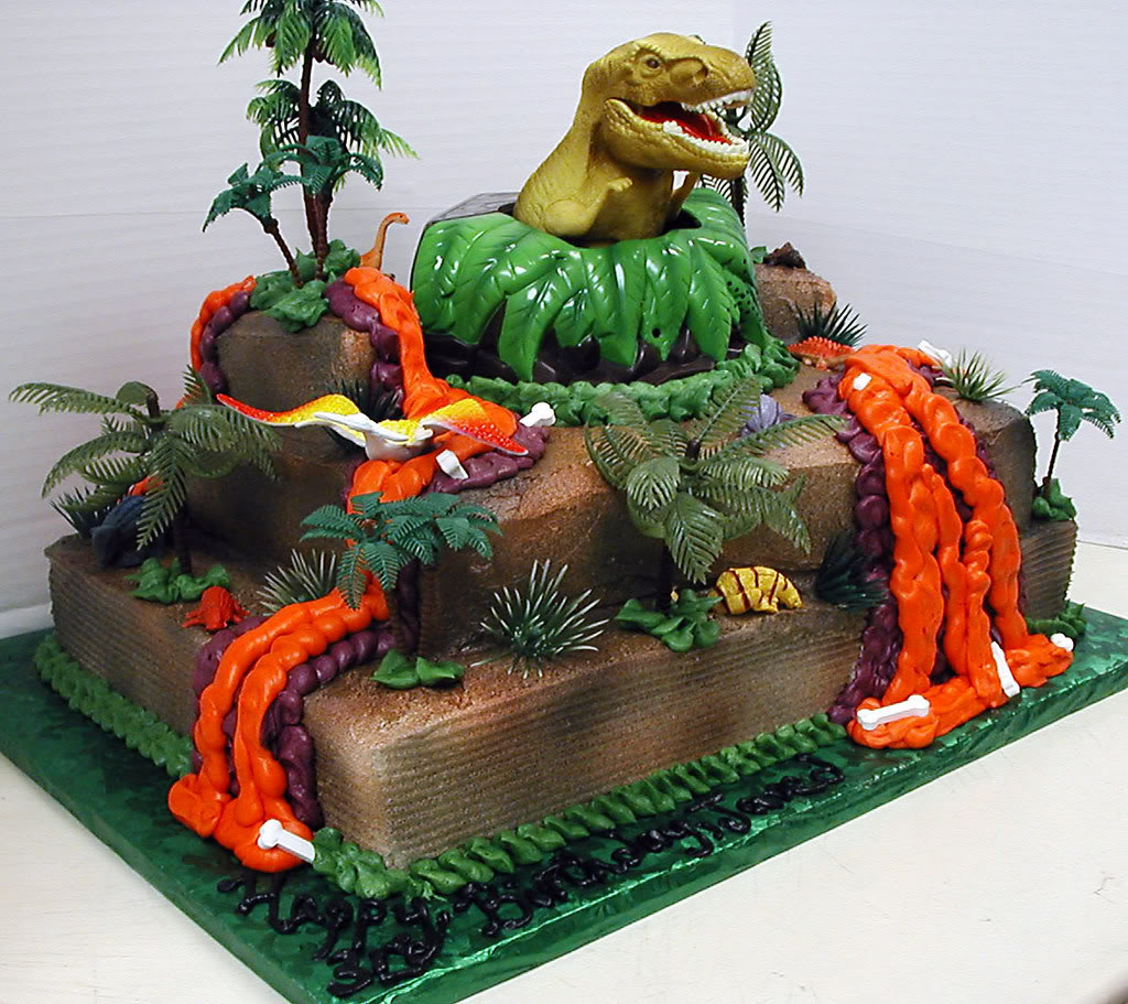 Dinosaur Cakes   Decoration Ideas Little Birthday Cakes