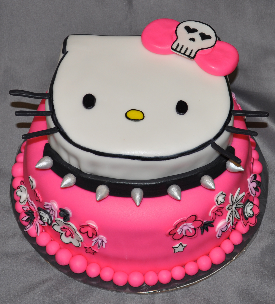 Pictures of Hello Kitty Cakes