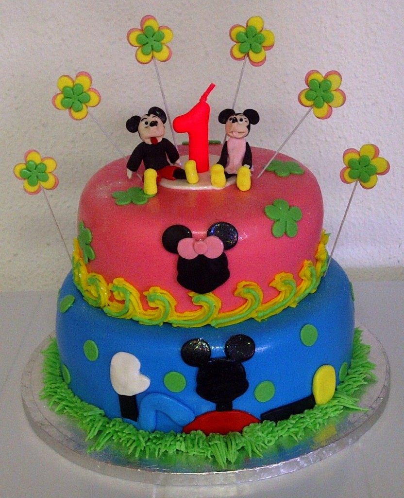 Pictures of Mickey Mouse Birthday Cakes