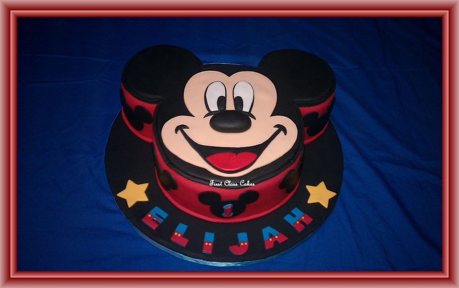 Pictures of Mickey Mouse Cakes