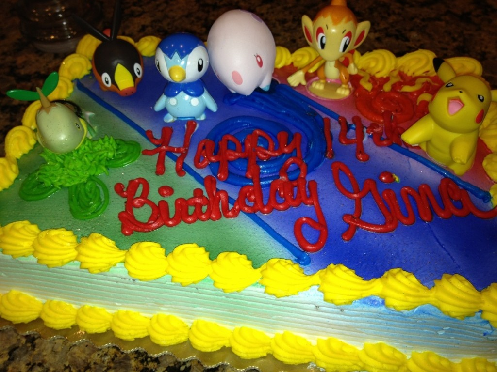 Pictures of Pokemon Cake