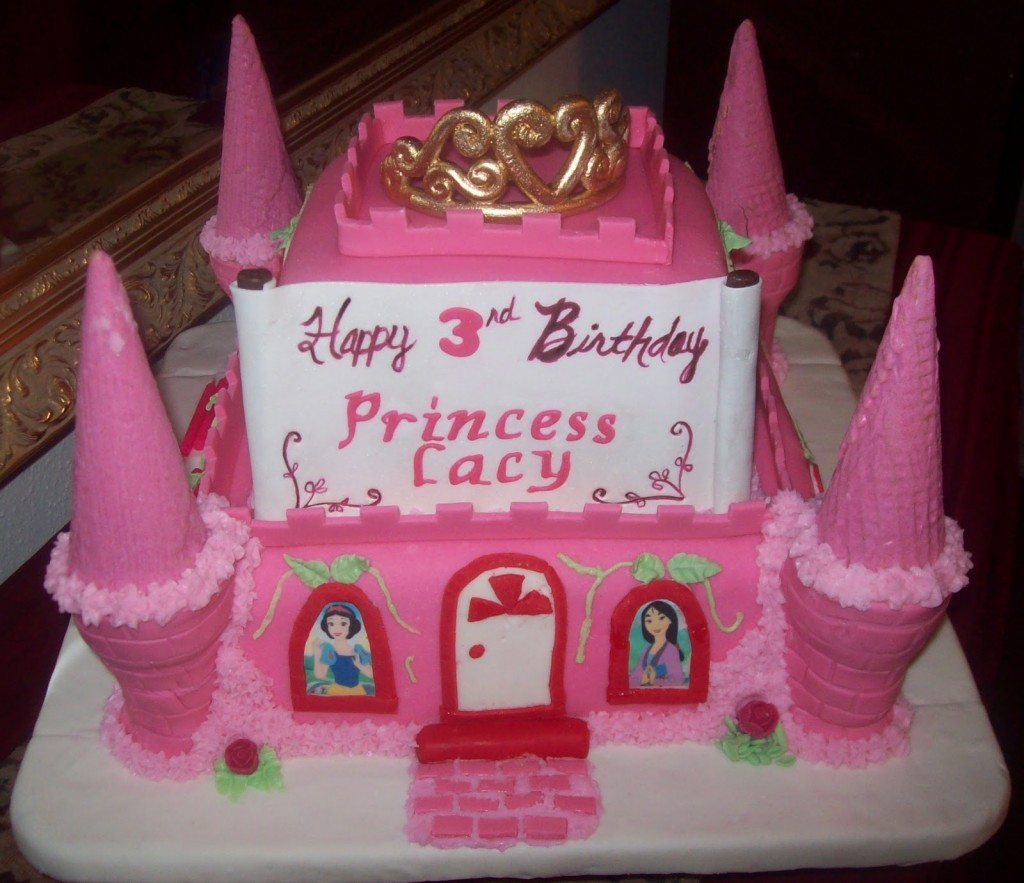 Pictures of Princess Castle Cakes