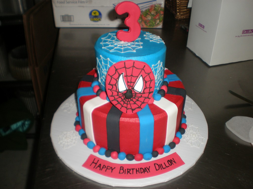 Pictures of Spiderman Cakes