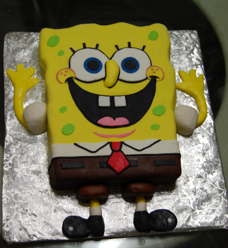 Pictures of Spongebob Cakes