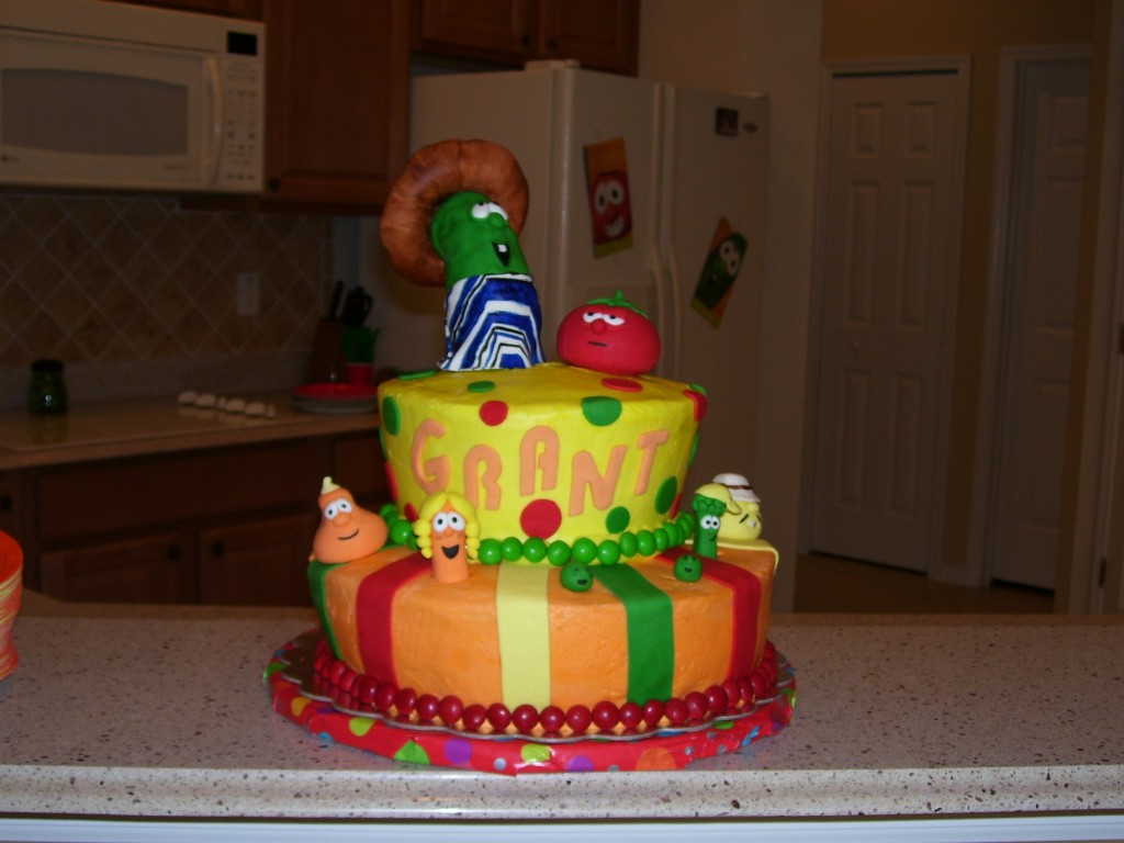 Pictures of Veggie Tales Cake
