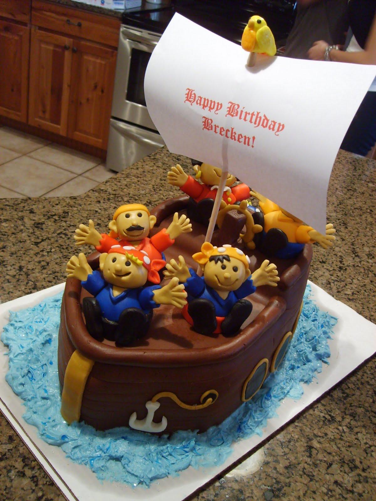Cake Designs Pirate : Pirate Cakes   Decoration Ideas Little Birthday Cakes