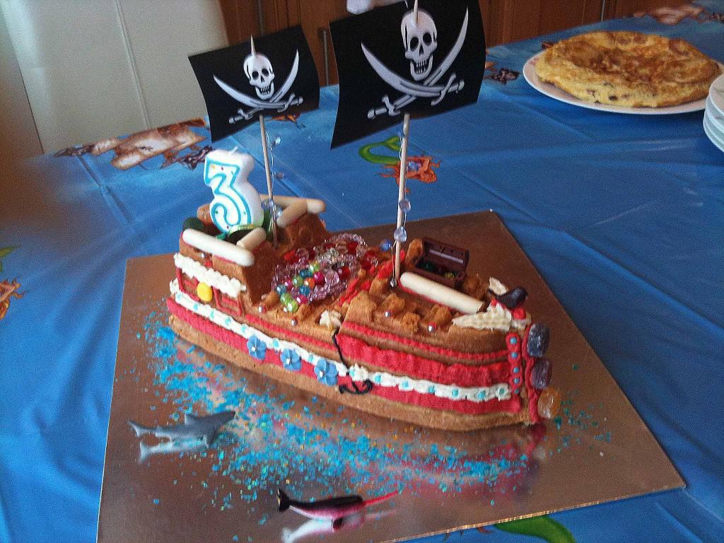 Pirate Birthday Cakes