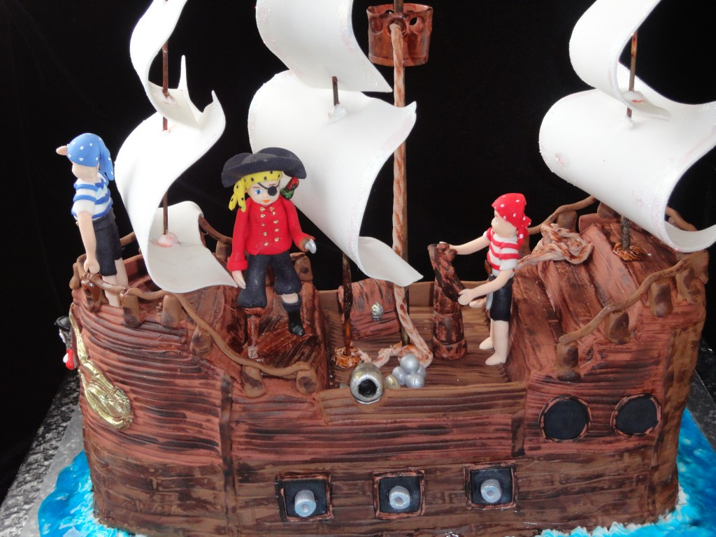 Pirate Ship Cake Pictures