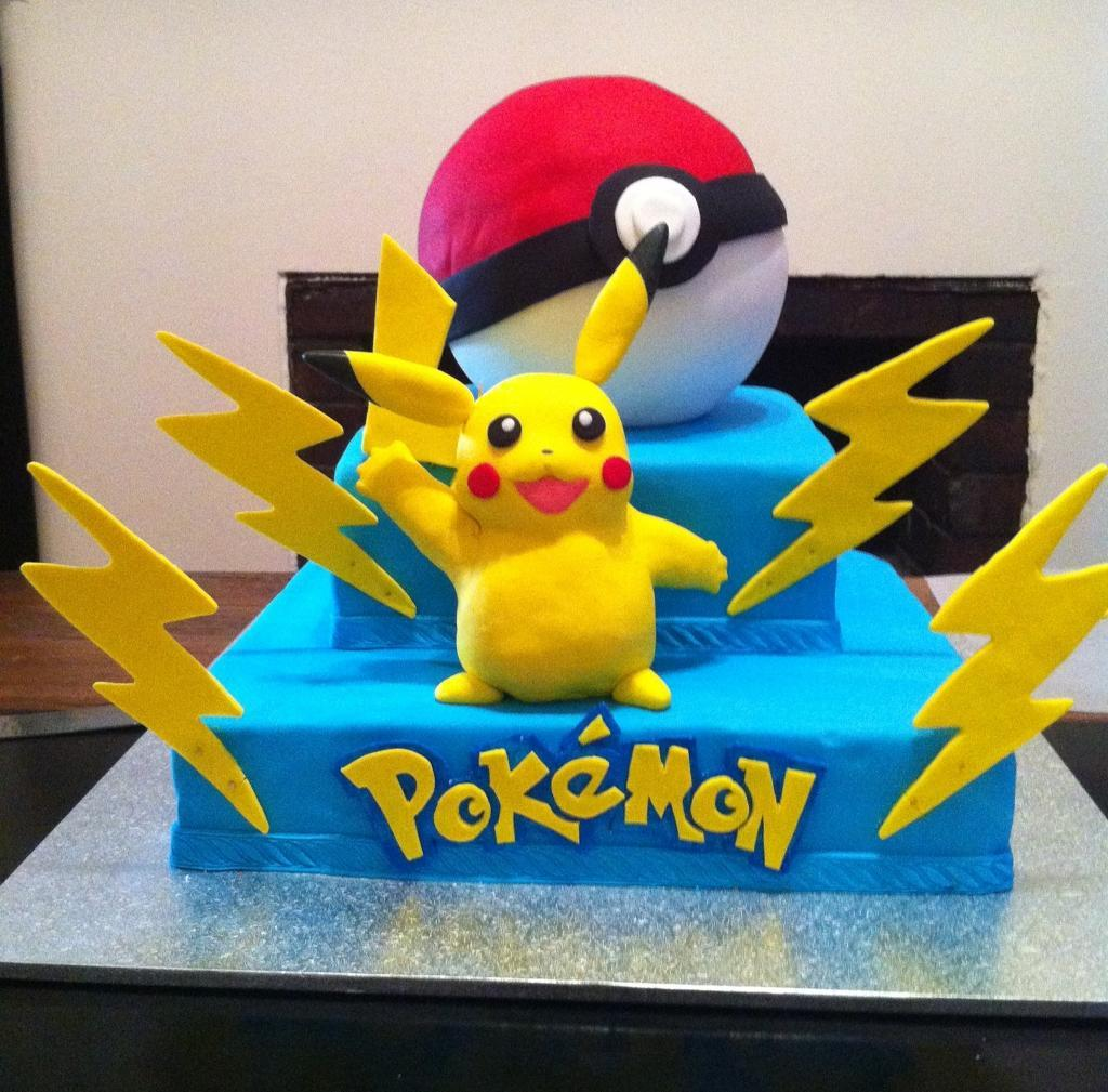 Pokemon Cake Decorations
