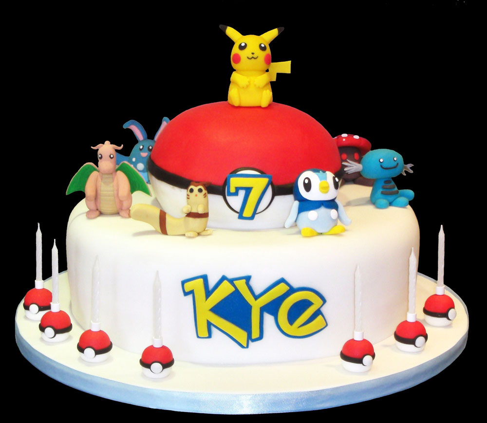 Pokemon Cakes Decoration Ideas Little Birthday Cakes