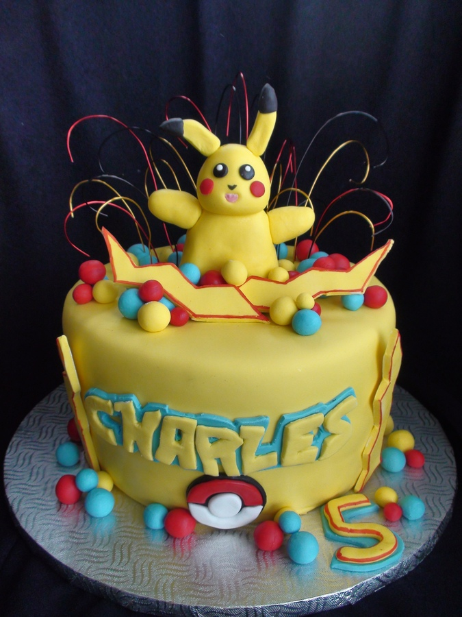 Pokemon Cake Photos