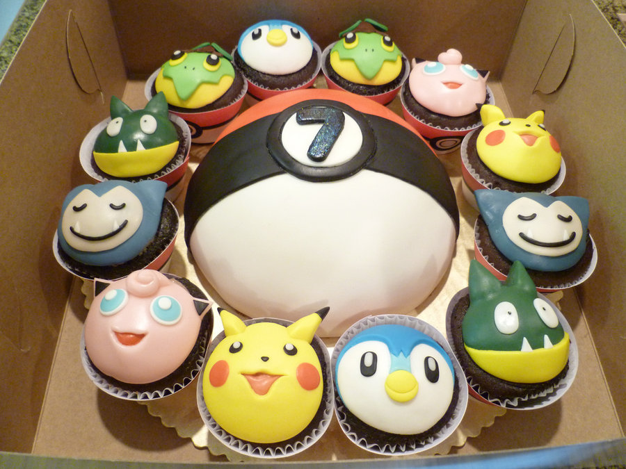 Pokemon Cakes Cupcakes