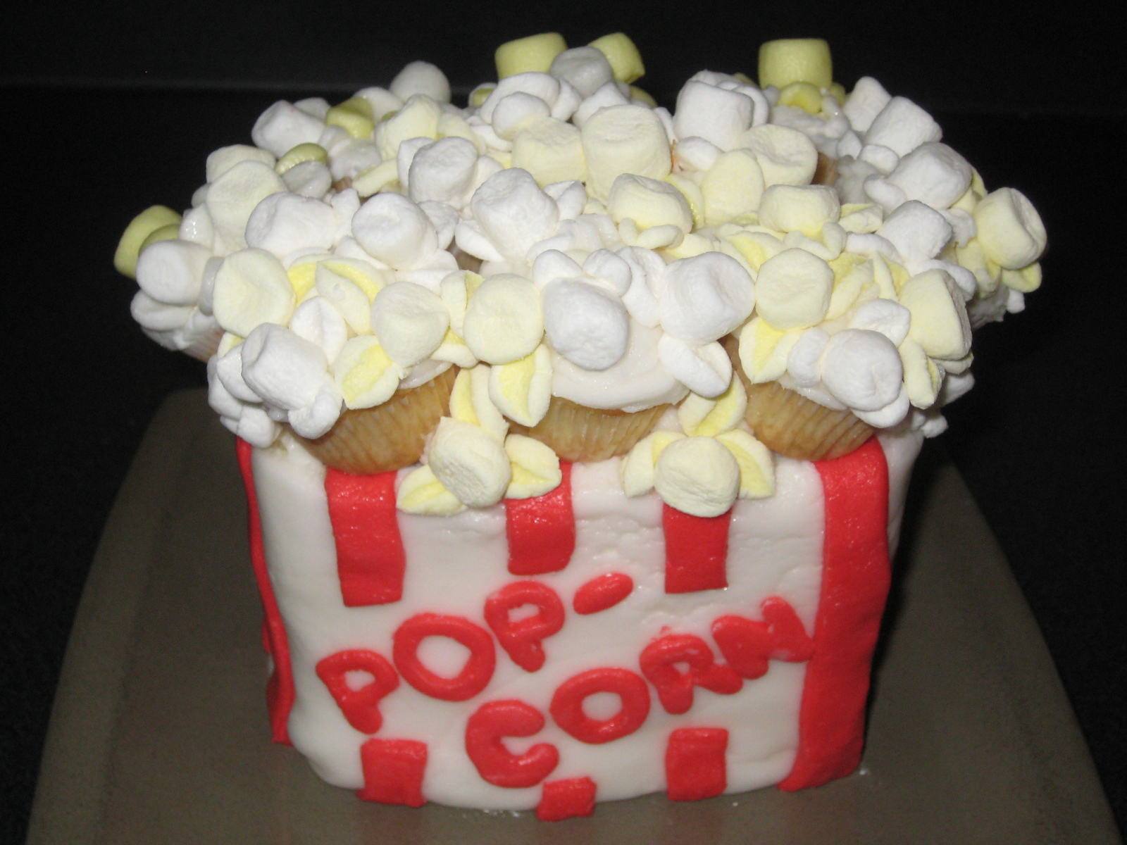 Popcorn Cakes Decoration Ideas Little Birthday Cakes