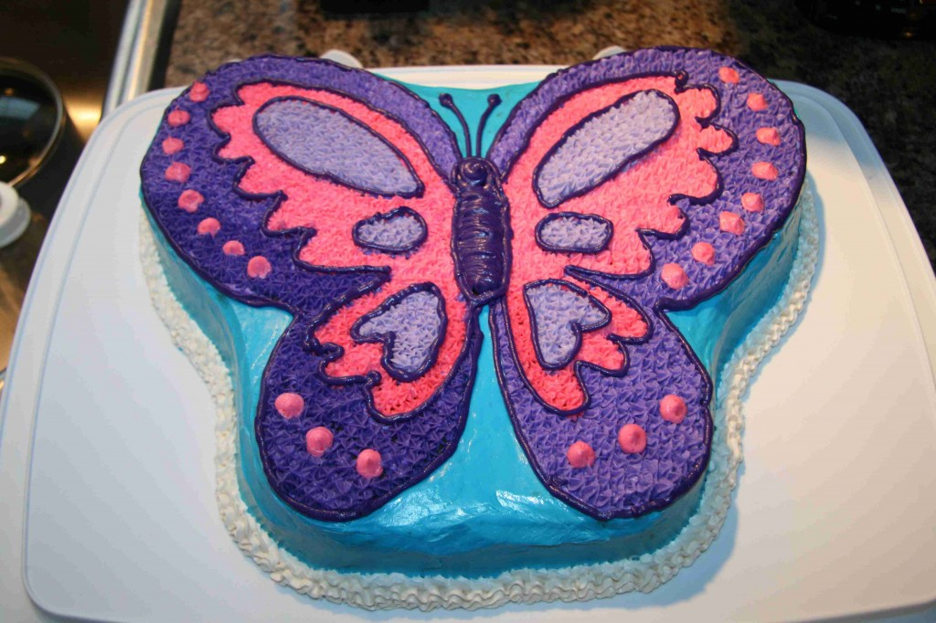 Quinceanera Butterfly Cakes
