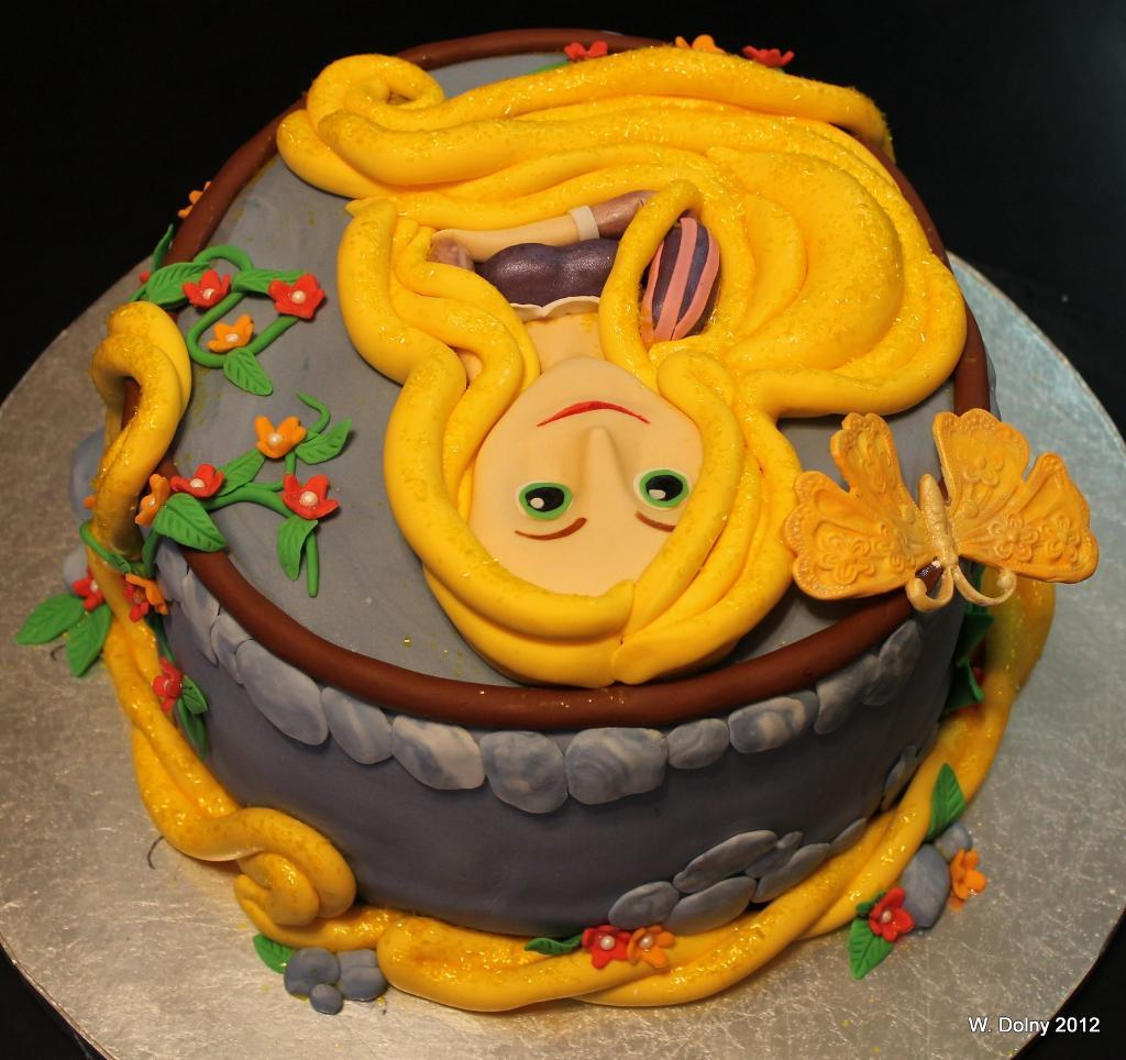 Rapunzel Birthday Cake Ideas