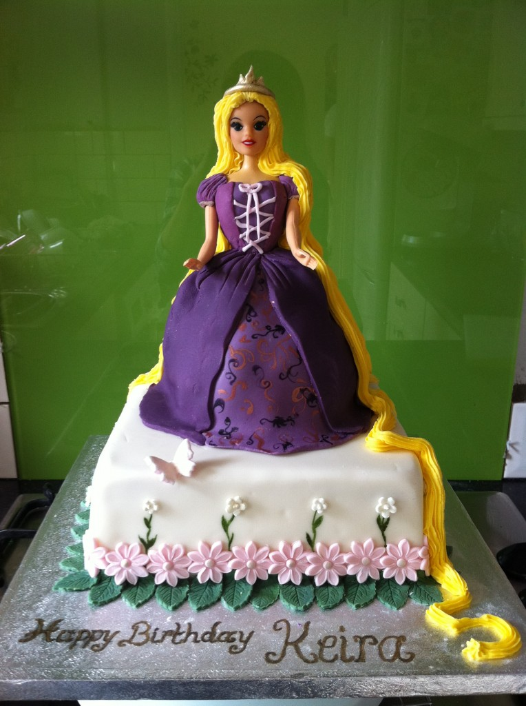 Rapunzel Cake Topper