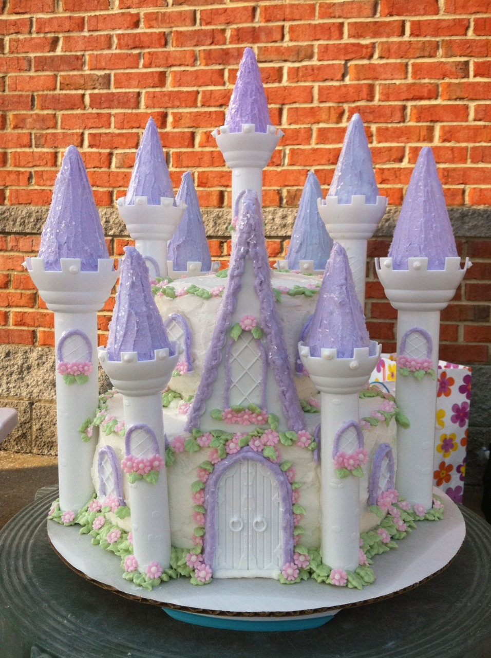 Best Cake For Sand Castle