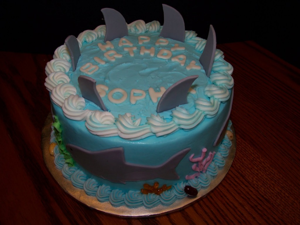 Shark Cakes Decoration Ideas Little Birthday Cakes