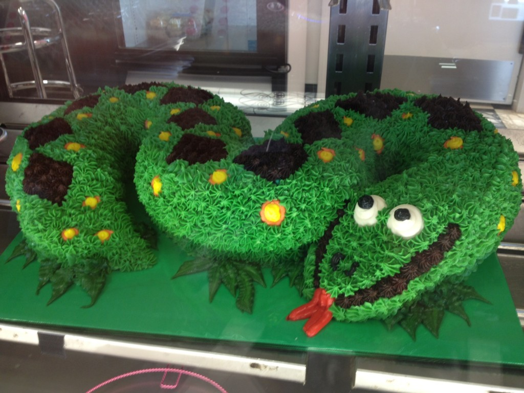 Snake Cakes Decoration Ideas Little Birthday Cakes