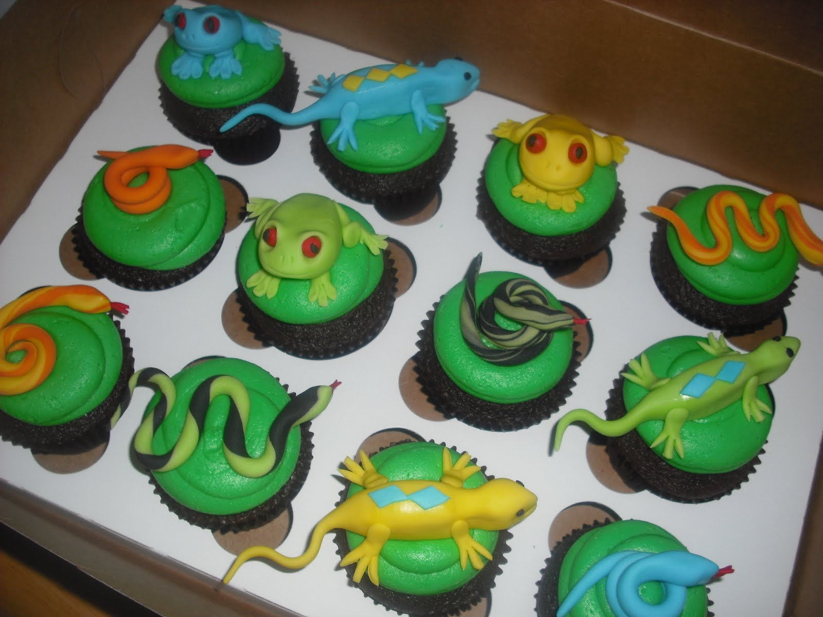 Snake Birthday Cake Designs