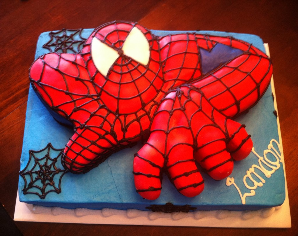 Spiderman Birthday Cake Images