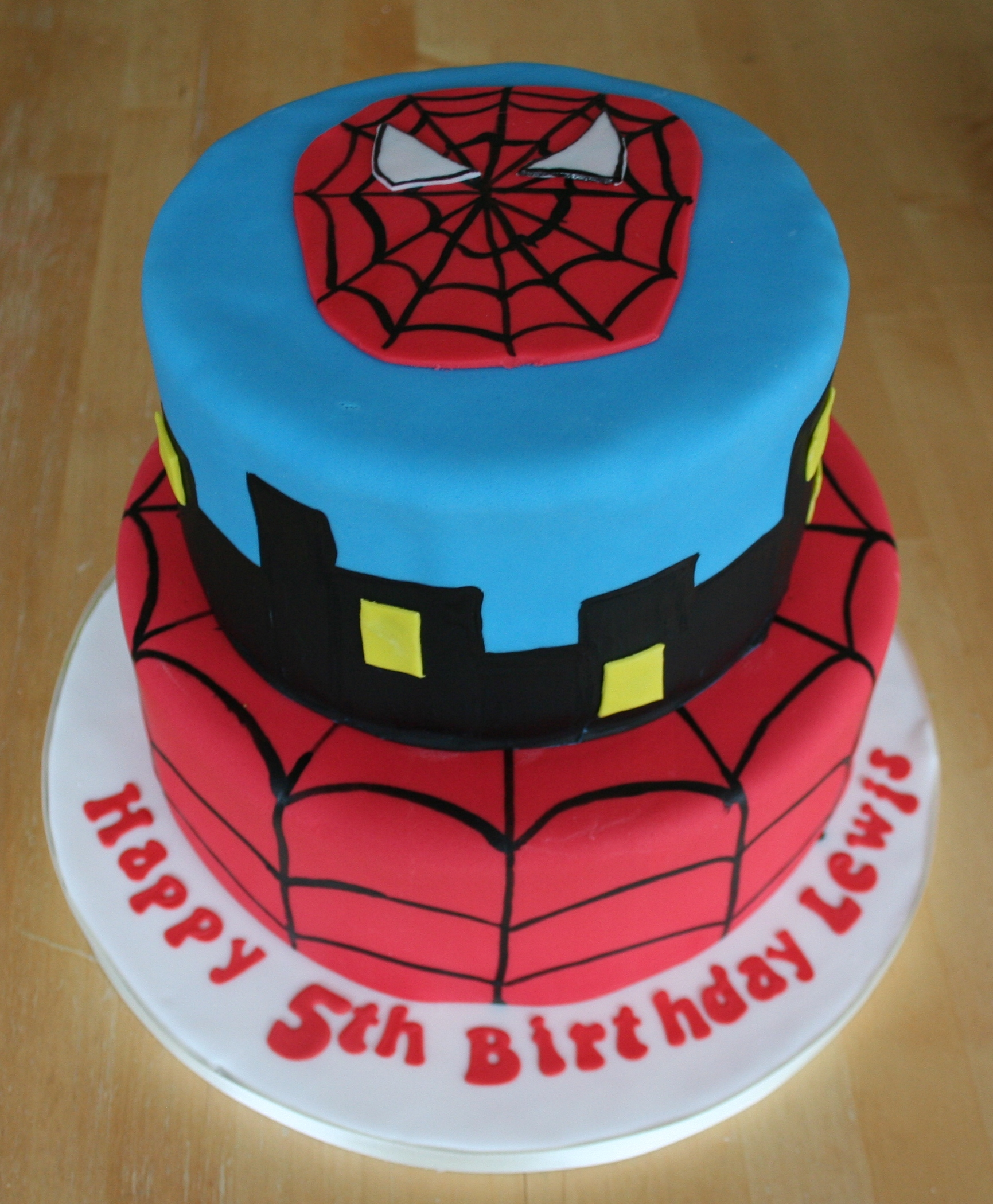 Spiderman Cakes – Decoration Ideas