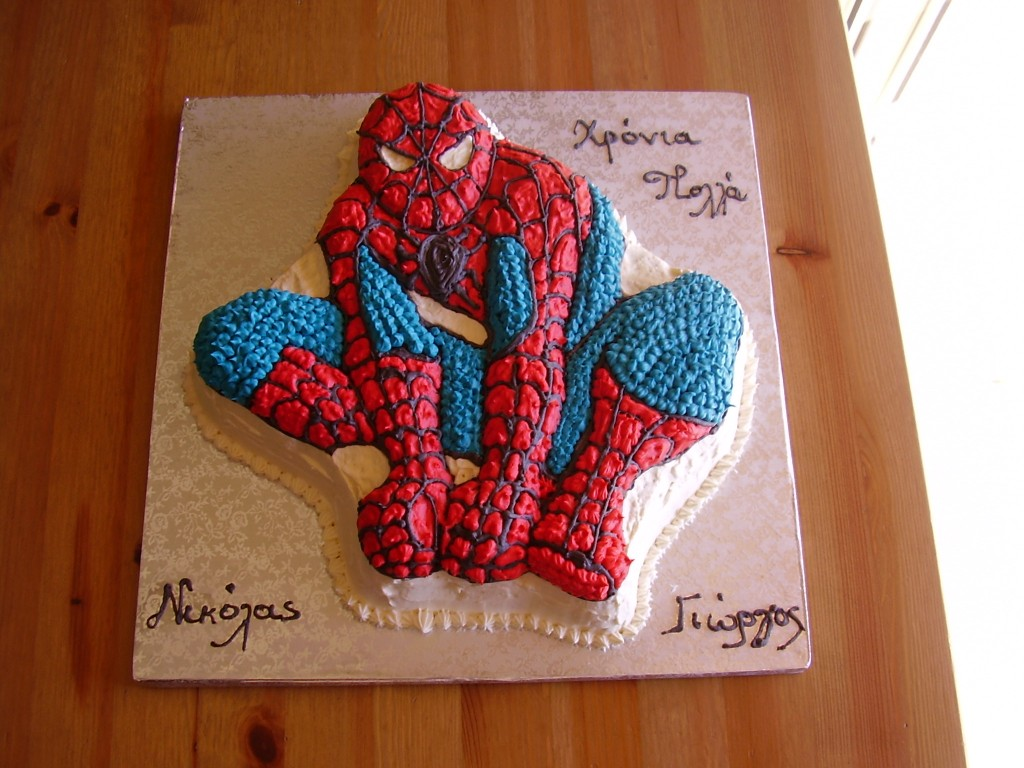 Spiderman Cake Pictures