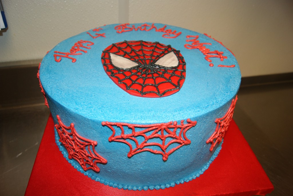 Spiderman Cake Recipe