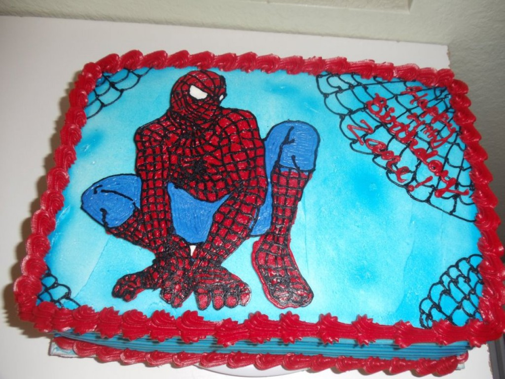 Spiderman Cakes Ideas