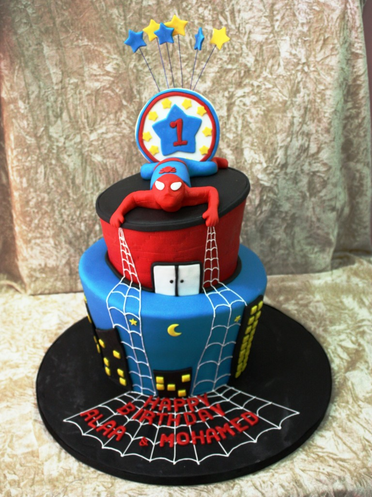 Spiderman Cakes Images