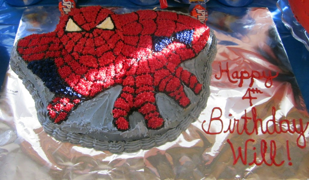 Spiderman Cakes Pictures