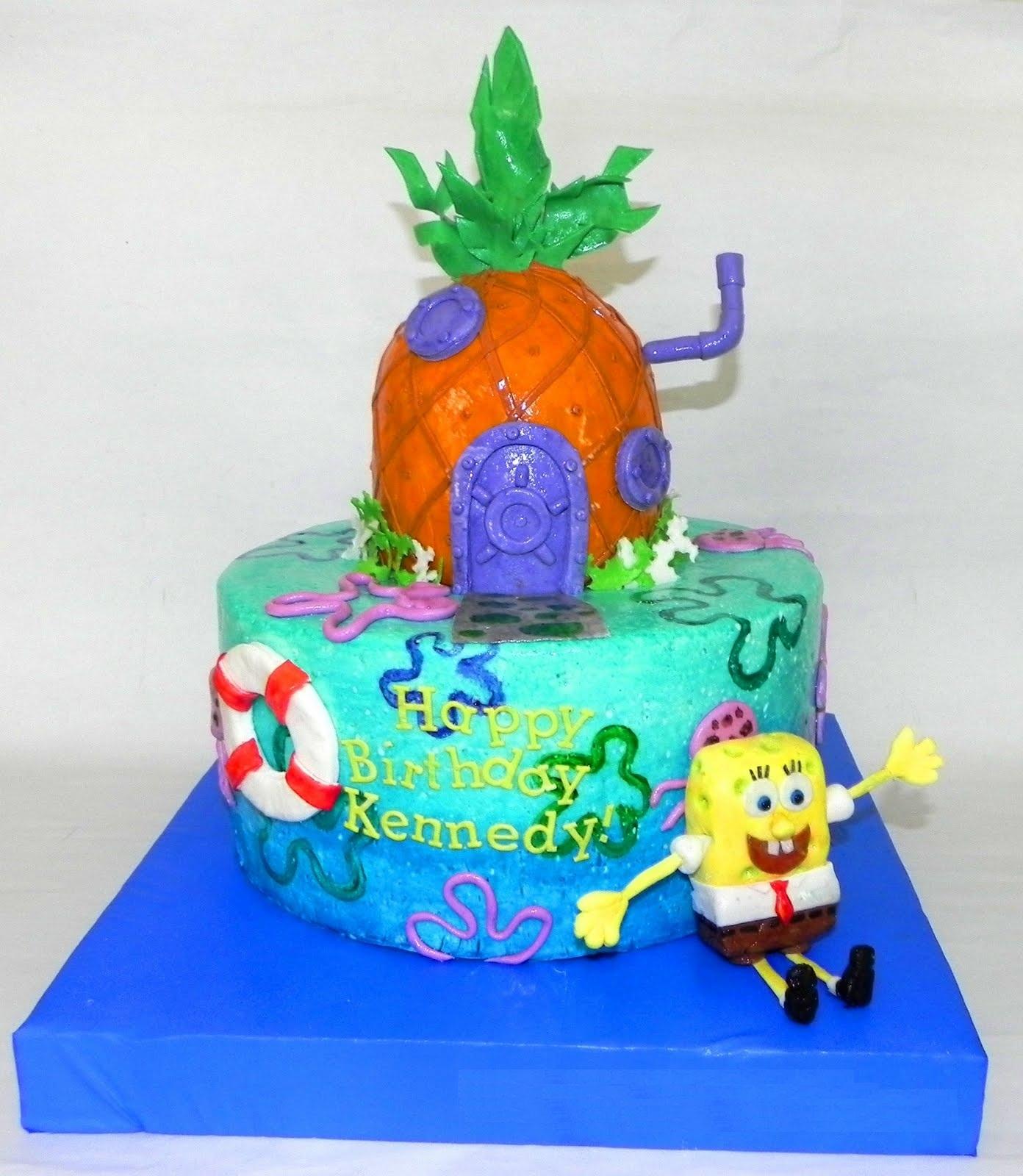 Spongebob Underwater Cake