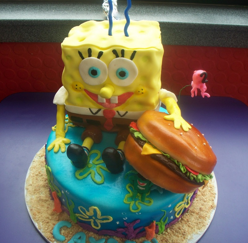 Spongebob Birthday Cake Design : Spongebob Cakes   Decoration Ideas Little Birthday Cakes