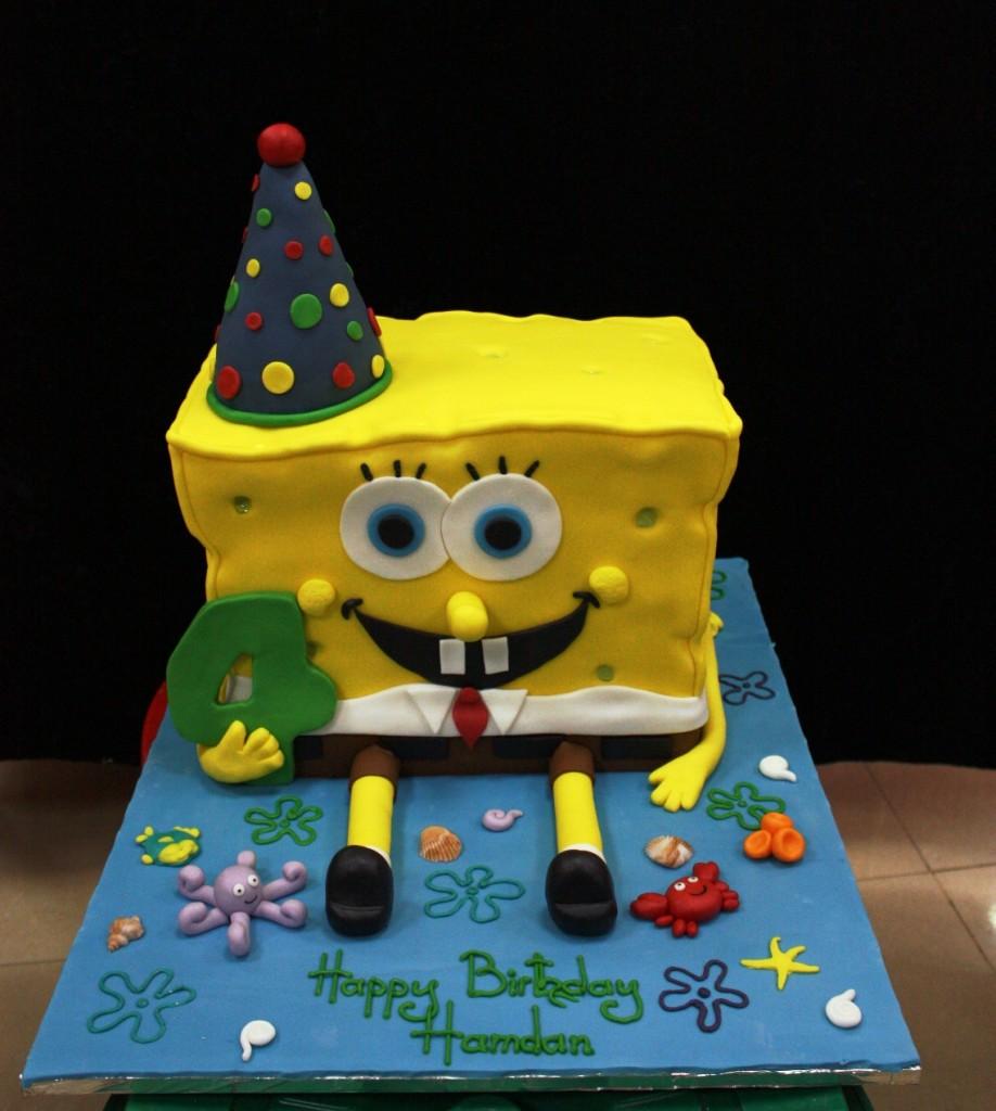 Spongebob Cakes Pictures