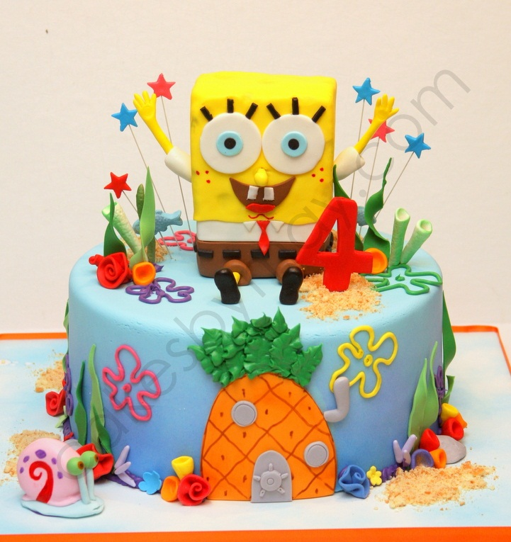 Spongebob Squarepants Cake Ideas