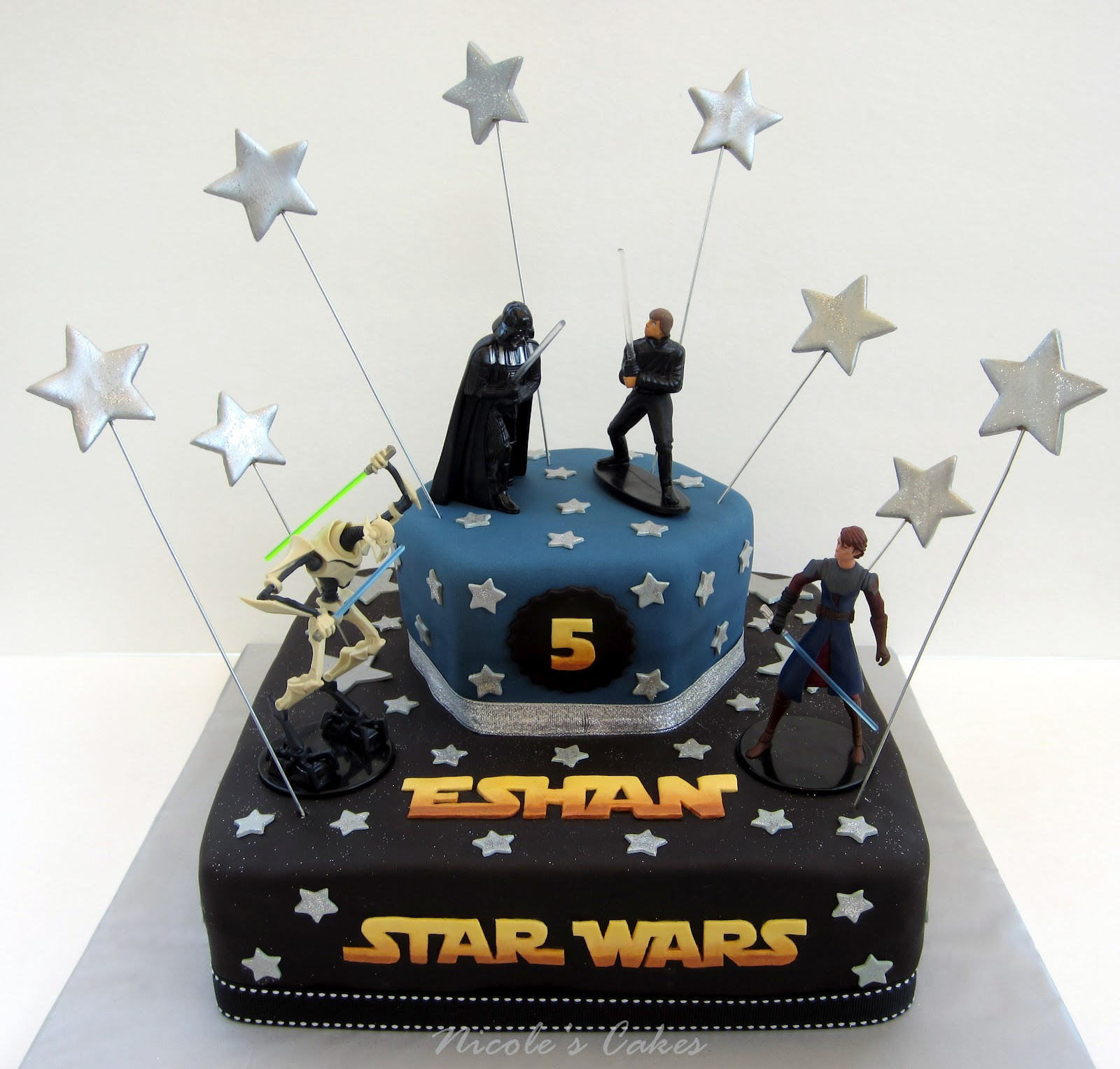 Star wars cakes decoration ideas little birthday cakes for Star wars dekoration