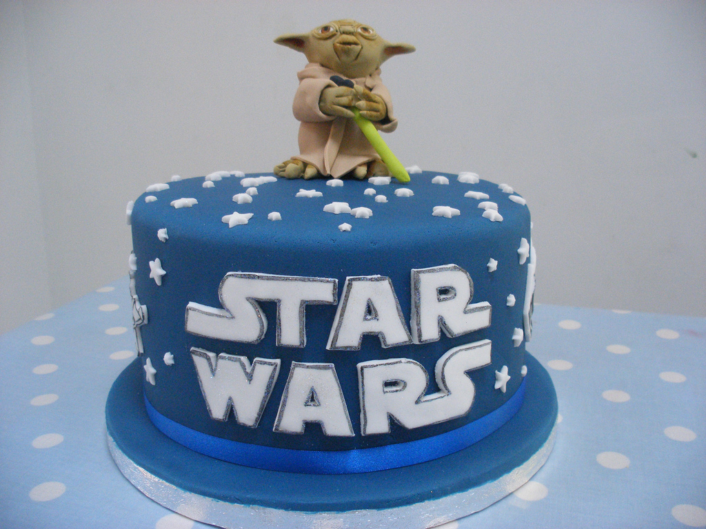 Angry Birds Star Wars Cake Designs